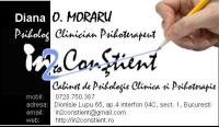 psiholog clinician psihoterapeut Bucuresti Diana O. Moraru